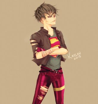 Superboy by KaylaBeeMarie
