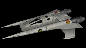Buck Rogers Starfighter 01 by peterhirschberg