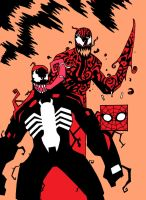 VENOM AND CARNAGE by future-parker