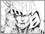 TF Ongoing 22 cover lineart by markerguru