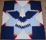Lonestar Eagle Quilt Pattern by supermutts