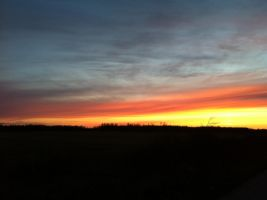 Sunset 10/28/12 by dcrods