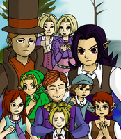 professor layton and the mask that drowned. by Pencilfish