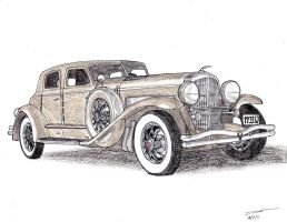 1104 - 1933 Duesenberg SJ by TwistedMethodDan