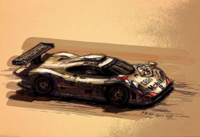 1998 Porsche LM26 car2c by Rizov