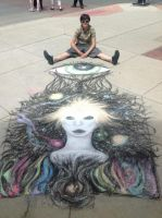 Chalk finished last picture by KimRenYa