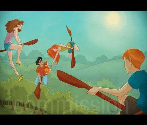 HP: Summer Quidditch by Loleia