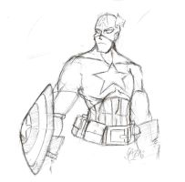Daily Sketch 232: Cap by ReluctantZombie