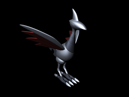 omg animated spinning skarmory by KirbytehPink