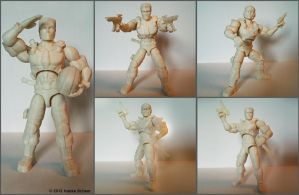 3D printed action figure 2.0 by hauke3000