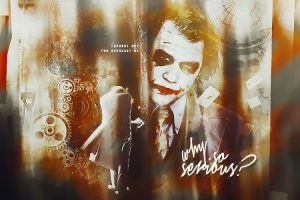 Why So Serious? by luewee