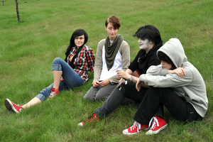 Homestuck 4 Chords meetup by Cesia
