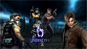 Resident Evil 6 heros by punkprincess898