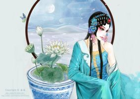 Blue Lotus by Sherry-L