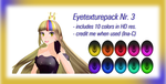 eyetexture pack Nr 3 (Download) by Ina-C