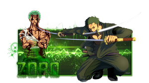 Signature - Zoro by AniMangaSigns
