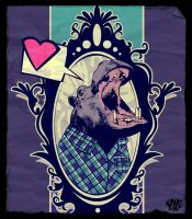 Hippo in love by toxicadams