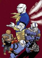 Hordak's time in Doubt flats by Khenmes