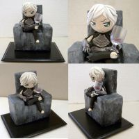 Dragon Age II - Fenris Figure by vrlovecats