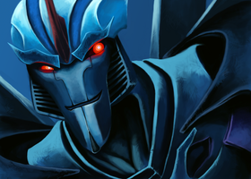 Insidious Commander Starscream by Lopoddity