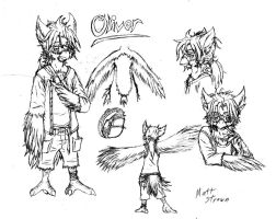 Oliver the Owl by Faullyn