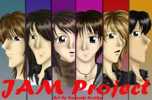 JAM Project by kojika