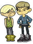 Daesung and TOP by bo-tan