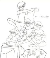 Video Games by inuyashasno1girl