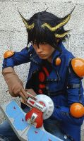 Yusei Fudo Cosplay by DarthRey