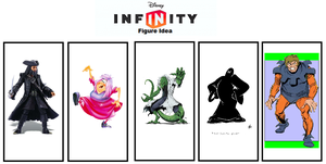 Disney Infinity Figure Idea (Villains) 2 by TheFoxPrince11