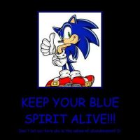 Keep The Blue Spirit Alive!! by RoseOfTheNight4444