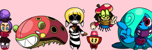 Chibi OCs by Coonstito