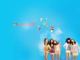 Wonder Girls Wallpaper by mangoninja