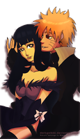 Kind of Dark NaruHina by darkgal666