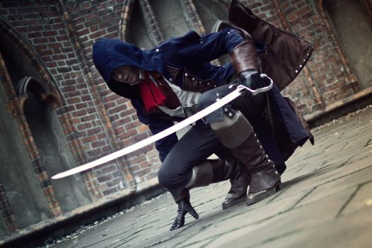 INFLAME OR ENLIGHTEN - ARNO DORIAN - AC UNITY by chevvychev