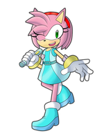 SS Patroller Amy Rose by blackburn789