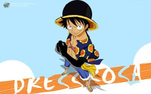 One Piece 1 Dressrosa (Luffy) - 1920x1200 by PugPrime