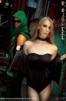 Green Arrow and Black Canary 4 by Superchica