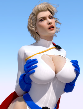 Power Girl Presents by DolphinCoreX