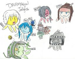 DMMD - Clear's Vision: DRAMAtical Jellyfish by Moonlit-Supernova