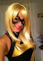 Ms Marvel Cosplay close up by jedigirl528