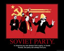 Soviet Party+ by DeMotivationalMuch
