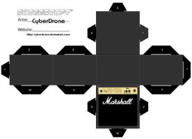 Cubee - Marshall Amp 2 by CyberDrone