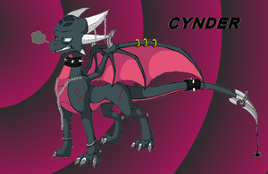 Cynder dress up by Purple-Dark-Angela