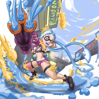 come on squid faster by moronsonofboron