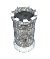 Castle Stock Parts #5 tall tower open gorge watch by madetobeunique