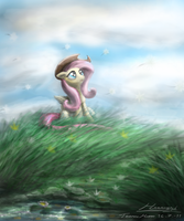 Fluttershy by Huussii
