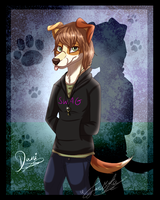 Raffle Prize: Dani~ by ScottishRedWolf