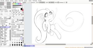 fluttershy-WIP3 by PtolemaiosLS