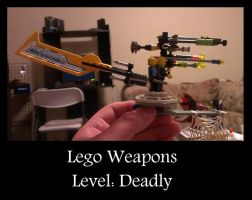 Lego Weapons Level Deadly by JasonTerror